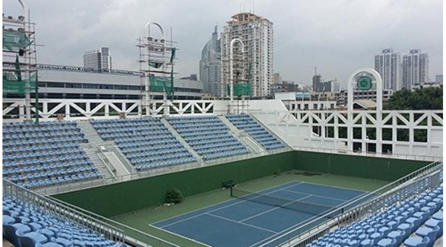 PLEXUS(派乐斯)-福建体育中心网球场项目