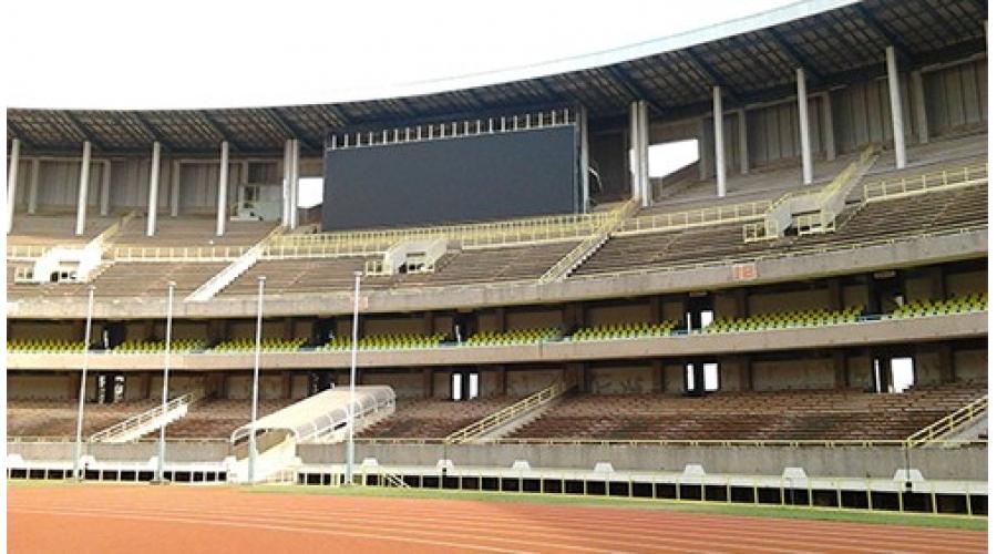 原始非洲草原上的体育综合设施-肯尼亚国家体育中心