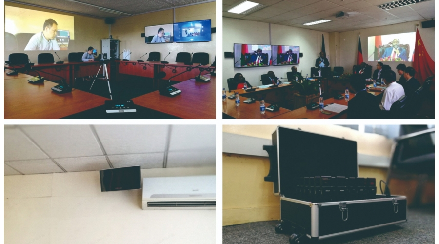 Remote Video Conference System of Malawi Ministry of  Industry and Trade